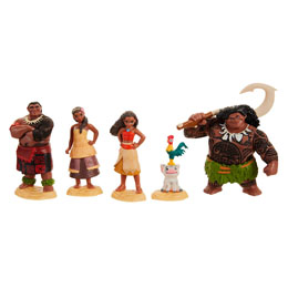 Photo du produit COFFRET 5 FIGURINES DISNEY VAIANA Photo 2