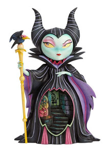 THE WORLD OF MISS MINDY PRESENTS DISNEY STATUETTE MALÉFIQUE (LA BELLE AU BOIS DORMANT) 26 CM
