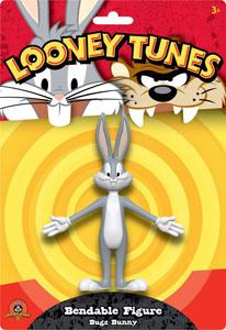 FIGURINE LOONEY TUNES FLEXIBLE BUGS BUNNY 15 CM