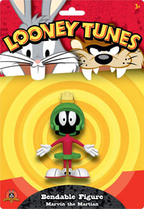 FIGURINE LOONEY TUNES FLEXIBLE MARVIN THE MARTIAN 15 CM