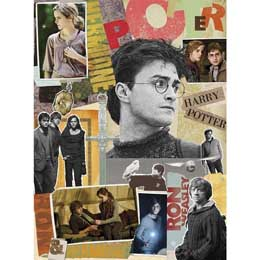 PUZZLE HARRY POTTER SCRAPBOOK JIGSAW (1000 PCS) 51X69CM