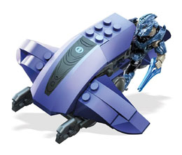 HALO MEGA BLOKS JEU DE CONSTRUCTION COVENANT COMMANDER
