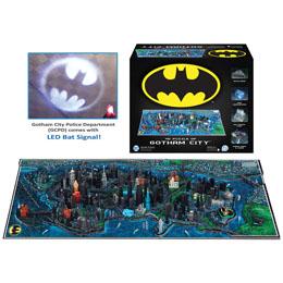 PUZZLE 4D CITYSCAPE BATMAN GOTHAM CITY