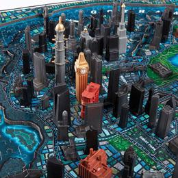 Photo du produit PUZZLE 4D CITYSCAPE BATMAN GOTHAM CITY Photo 3