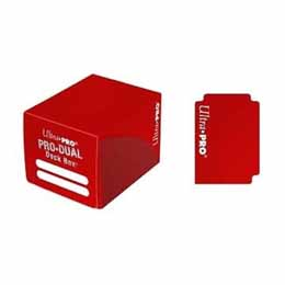 ULTRA PRO DECK BOX PRO DUAL SMALL RED