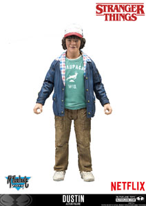 STRANGER THINGS ACTION FIGURE DUSTIN 15CM