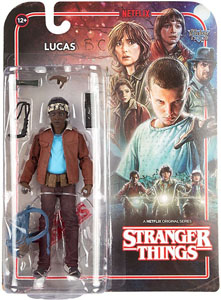 STRANGER THINGS ACTION FIGURE LUCAS 15CM