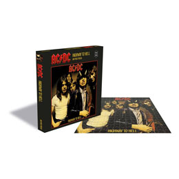 Photo du produit AC/DC ROCK SAWS PUZZLE HIGHWAY TO HELL (500 PIÈCES) Photo 1