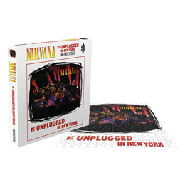 Photo du produit NIRVANA ROCK SAWS PUZZLE MTV UNPLUGGED IN NEW YORK (500 PIÈCES) Photo 1