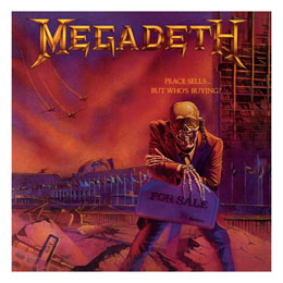 MEGADETH ROCK SAWS PUZZLE PEACE SELLS... BUT WHO´S BUYING (500 PIÈCES)