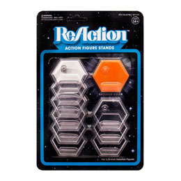 COFFRET DE 10 SOCLES POUR FIGURINES REACTION SUPER 7