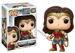 JUSTICE LEAGUE FUNKO POP! MOVIES VINYL FIGURINE WONDER WOMAN