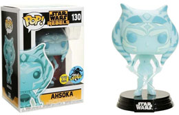 FUNKO POP STAR WARS REBELS AHSOKA TANO HOLOGRAPHIC EXCLUSIVE