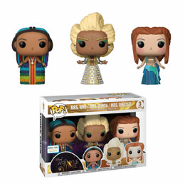 DISNEY POP WRINKLE IN TIME 3-PACK THE 3 MRS EXCLUSIVE