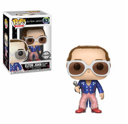 FUNKO POP ROCKS ELTON JOHN GLITTER EXCLUSIVE