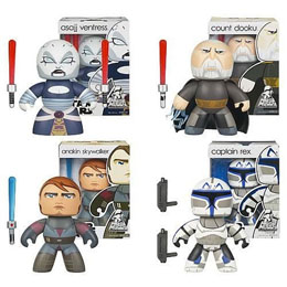 Photo du produit PACK STAR WARS 4 FIGURINES MIGHTY MUGGS STAR WARS