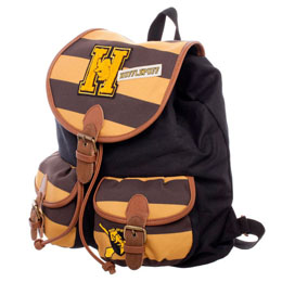 HARRY POTTER SAC A DOS HUFFLEPUFF VARSITY STRIPES