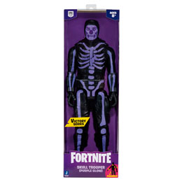 FIGURINE VICTORY SERIES SKULL TROOPER PURPLE GLOW FORTNITE 30CM