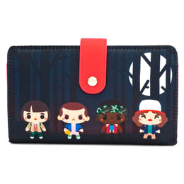 PORTEFEUILLE / PORTE CARTES STRANGER THINGS LOUNGEFLY