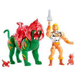 Photo du produit Masters of the Universe Origins 2021 pack 2 figurines Battlefield Warriors 14 cm Photo 1