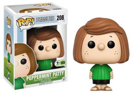 EMERALD CITY COMICON EXCLUSIVES FUNKO POP PEANUTS #208 PEPPERMINT PATTY
