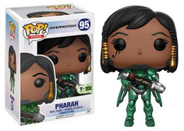 EMERALD CITY COMICON EXCLUSIVES FUNKO POP OVERWATCH #95 EMERALD PHARAH