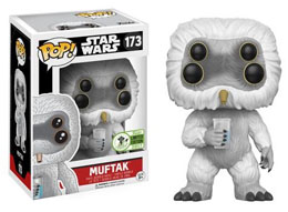 EMERALD CITY COMICON EXCLUSIVES FUNKO POP STAR WARS #173 MUFTAK