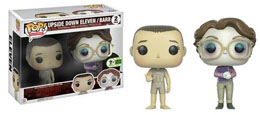 Photo du produit EMERALD CITY COMICON EXCLUSIVES FUNKO POP STRANGER THINGS 2-PACK: UPSIDE DOWN ELEVEN AND BARB