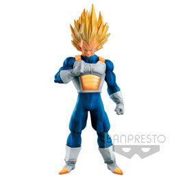FIGURINE BANPRESTO SUPER SAIYAN VEGETA SCULTURES BIG BUDOUKAI 6 SPECIAL DRAGON BALL SUPER 17CM