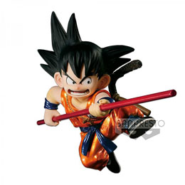 FIGURINE DBZ SCULTURES GOKU METALLIC EXCLUSIVE - BANPREST