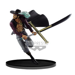 ONE PIECE BANPRESTO WORLD FIGURE COLOSSEUM VOL 3 DRACULE MIHAWK 17CM