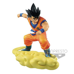 DBZ PURE HEART SERIES SON GOKU ON KINTO-UN