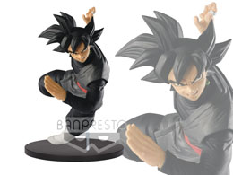 FIGURINE DBZ SON GOKU FES VOL 6 SON GOKU BLACK 21CM