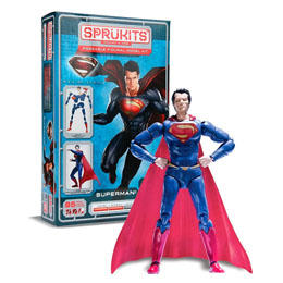 FIGURINE MODEL KIT SUPERMAN MAN OF STEEL DC COMICS