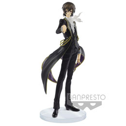 FIGURINE EXQ LELOUCH LAMPEROUGE CODE GEASS LELOUCH OF THE REBELLION