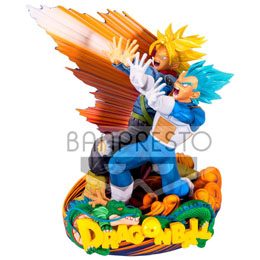 DRAGONBALL SUPER FIGURINE SUPER MASTER STARS PIECE VEGETA & TRUNKS