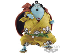 FIGURINE ONE PIECE KING OF ARTISTS JINBE 13CM