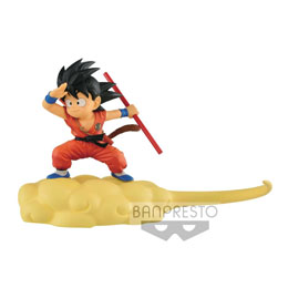 DRAGONBALL FIGURINE KINTOUN SON GOKU ON FLYING NIMBUS NORMAL COLOR VERSION