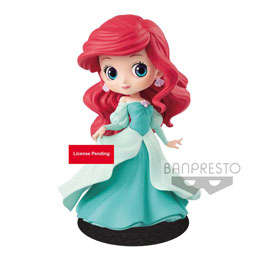 DISNEY FIGURINE Q POSKET ARIEL PRINCESS DRESS A (GREEN DRESS) 14 CM
