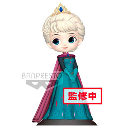 FIGURINE BANPRESTO DISNEY LA REINE DES NEIGES ELSA CORONATION VERSION B 14 CM