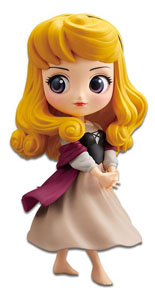 DISNEY FIGURINE Q POSKET BRIAR ROSE (PRINCESS AURORA) A NORMAL COLOR VERSION