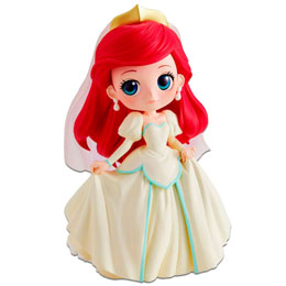 BANPRESTO Q POSKET DISNEY CHARACTERS DREAMY STYLE THE LITTLE MERMAID ARIEL A