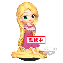 DISNEY FIGURINE Q POSKET RAPUNZEL GIRLISH CHARM A NORMAL COLOR VERSION