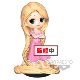 DISNEY FIGURINE Q POSKET RAPUNZEL GIRLISH CHARM B NORMAL COLOR VERSION