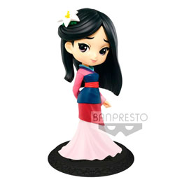 DISNEY FIGURINE Q POSKET MULAN A NORMAL COLOR VERSION