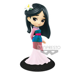 DISNEY FIGURINE Q POSKET MULAN B NORMAL COLOR VERSION