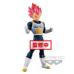 DRAGON BALL SUPER STATUETTE PVC CYOKUKU BUYUDEN SUPER SAIYAN GOD VEGETA 22 CM