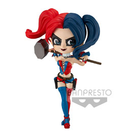 DC COMICS FIGURINE Q POSKET HARLEY QUINN A NORMAL COLOR VERSION 14 CM