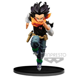 DRAGONBALL Z STATUETTE PVC BWFC ANDROID 17 NORMAL COLOR VER.