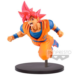 DRAGONBALL SUPER STATUETTE PVC SON GOKU FES SUPER SAIYAN GOD SON GOKU